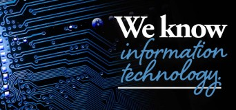 We Know Information Technology with network image