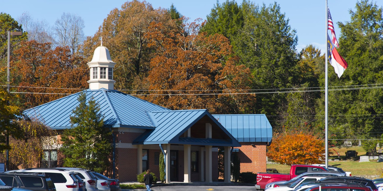 Transylvania County Campus of Blue Ridge Community College Straus Building