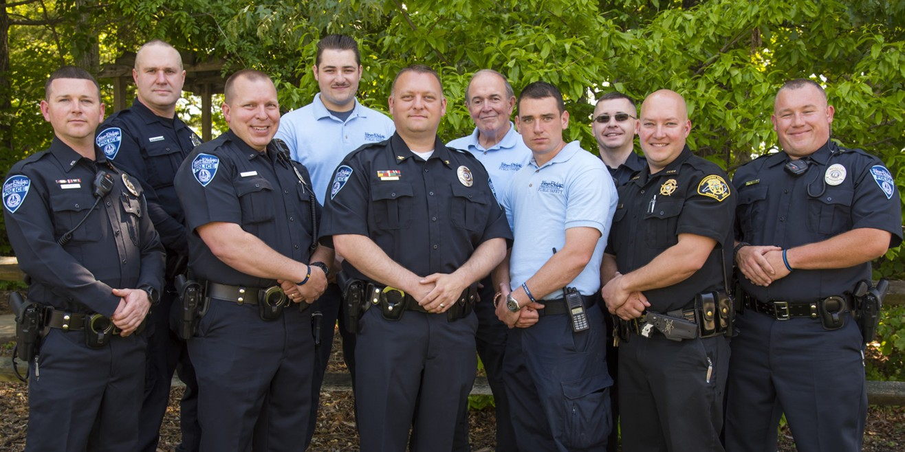 Blue Ridge Community College Police - group photo
