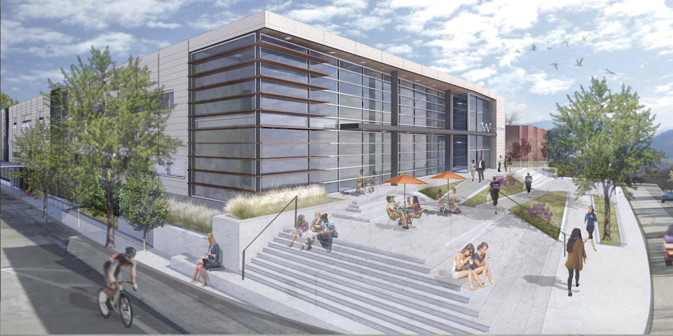 Health Sciences Center architectural drawing