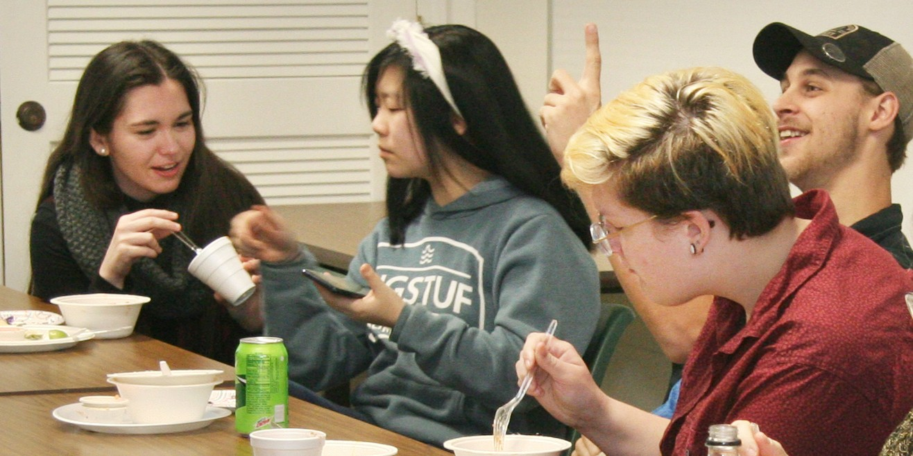 BRCC TCC Campus students enjoy food tasting celebration