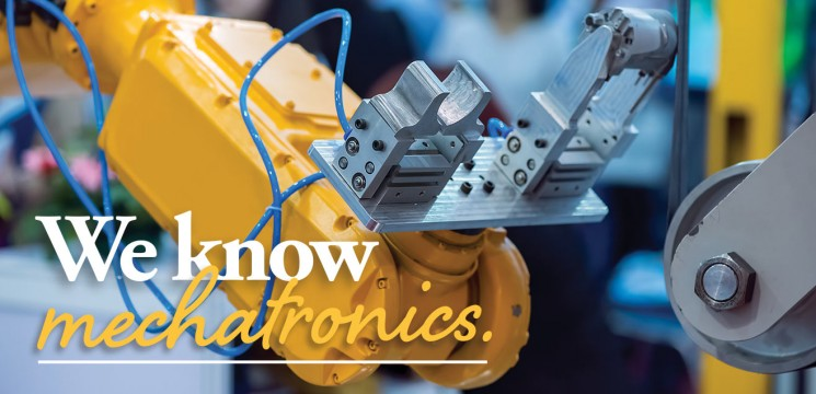 Mechatronics equipment photo: We know mechatronics